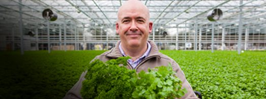 Meet our local growers  Say Hi to Tom Hanlon